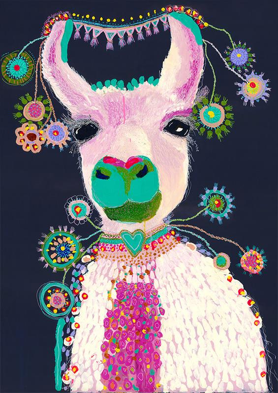 Grotti Lotti_lacey the llama